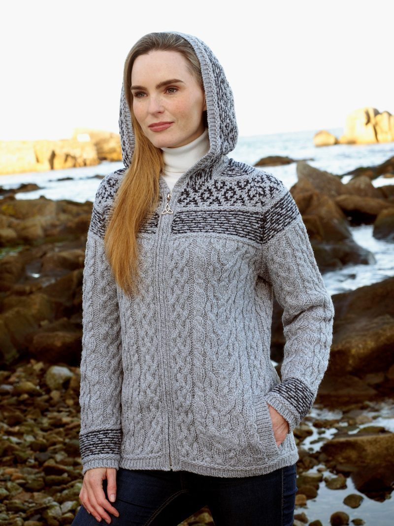 Fairisle Zip Hoody