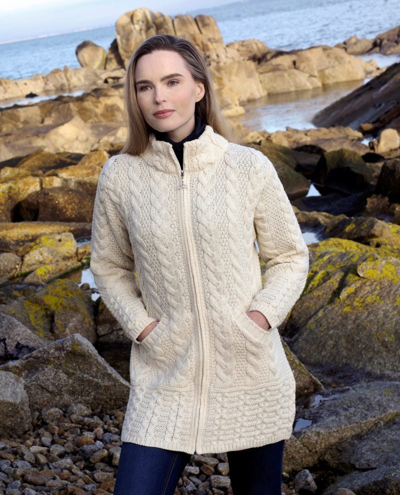 Cork Long Zip Coat