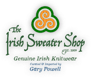 to Startpage of 'The Irish Sweater Shop' - Curated & Imported by Gary Powell